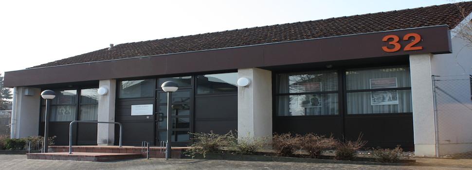 Seit 1999 in Dieburg in den ehemaligen Räumlichkeiten der Volksbank